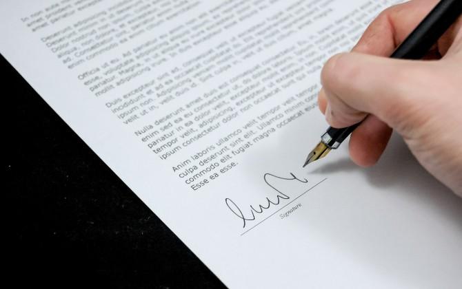 Contrat de travail et lettre de licenciement